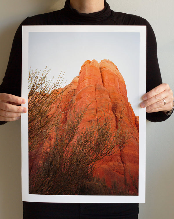 Matte Print | Southwest: Sedona 0786 - Lemonee on the Hills