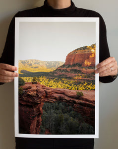 Matte Print | Southwest: Sedona 0864 - Lemonee on the Hills
