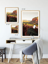 Load image into Gallery viewer, Matte Print | Southwest: Sedona 0864 - Lemonee on the Hills