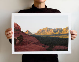 Matte Print | Southwest: Sedona 0916 - Lemonee on the Hills