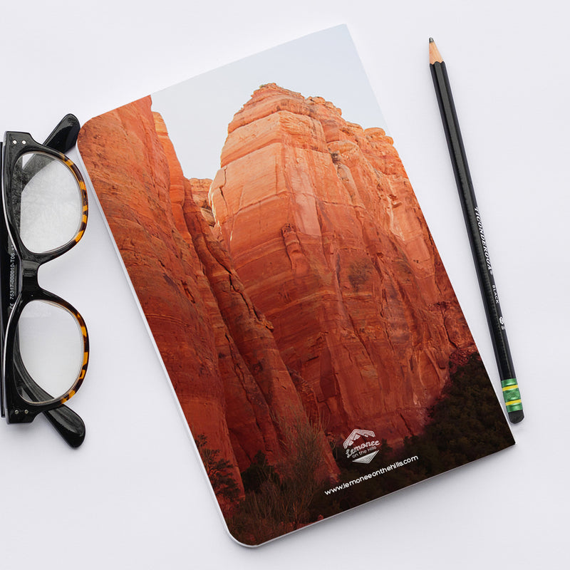 Stitched Notebook | Southwest: Sedona 0784 - Lemonee on the Hills