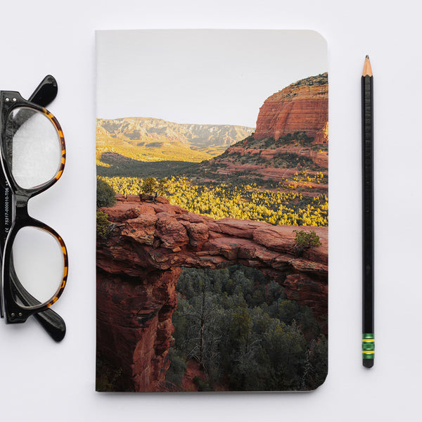 Stitched Notebook | Southwest: Sedona 0864 - Lemonee on the Hills