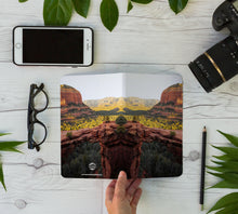Load image into Gallery viewer, Stitched Notebook | Southwest: Sedona 0864 - Lemonee on the Hills