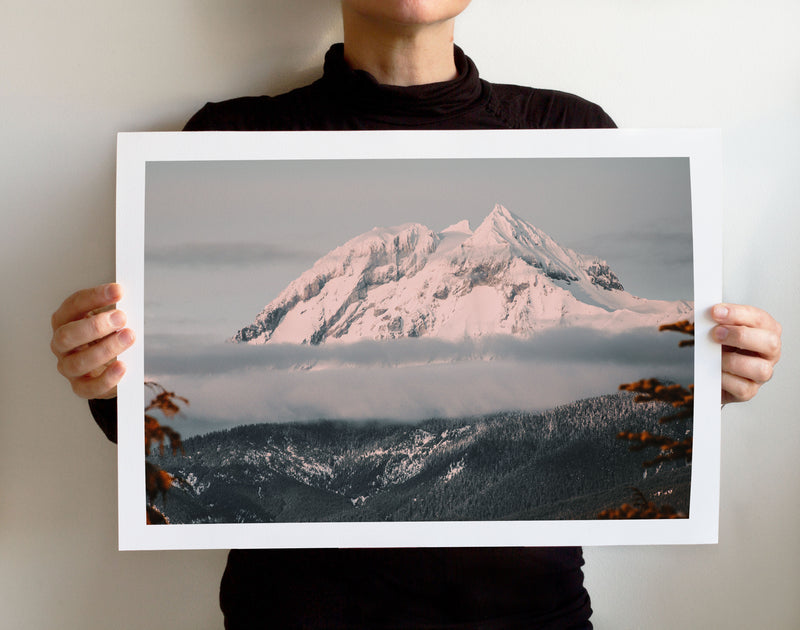 Matte Print | The Pacific Northwest: Squamish 0400 - Lemonee on the Hills