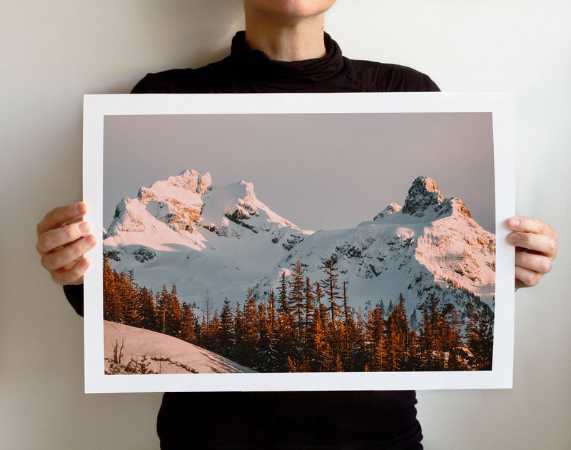 Matte Print | The Pacific Northwest: Squamish 0404 - Lemonee on the Hills