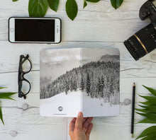 Load image into Gallery viewer, Stitched Notebook | The Black and White: Squaw Alpine 9844 - Lemonee on the Hills