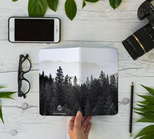 Load image into Gallery viewer, Stitched Notebook | The Black and White: The Trees 0825 - Lemonee on the Hills
