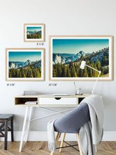 Load image into Gallery viewer, Matte Print | Les Classics: Yosemite 8433 - Lemonee on the Hills