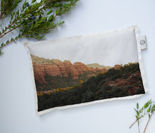 Load image into Gallery viewer, Hot/Cold Microwavable Therapy Pad | Southwest: Sedona 0843 - Lemonee on the Hills