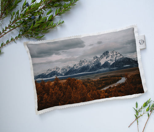 Heat Pad | The US National Parks: Grand Teton 9893 - Lemonee on the Hills