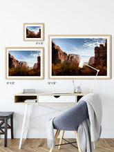 Load image into Gallery viewer, Matte Print | The US National Parks: Zion 9949 - Lemonee on the Hills
