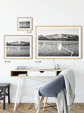 Load image into Gallery viewer, Matte Print | Black and White: Winter on Lake Tahoe - Lemonee on the Hills