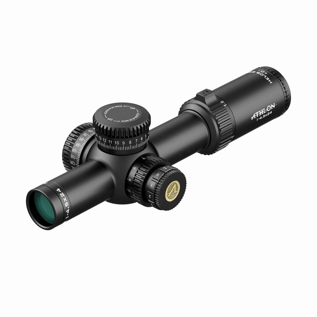 Athlon Optics Helos BTR 1-4.5×24 ATSR3 SFP IR MOA - Ridge View Optics