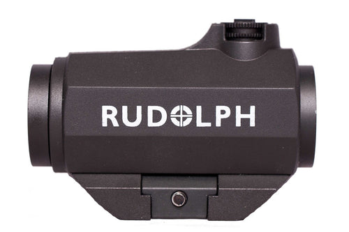 Rudolph Red Dot Micro 1x20mm Raised Base - Ridge View Optics