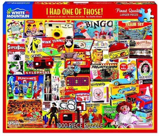 I Had One of Those - 1000 Piece Puzzle