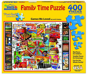 Games We Loved Puzzle - 400 Pieces