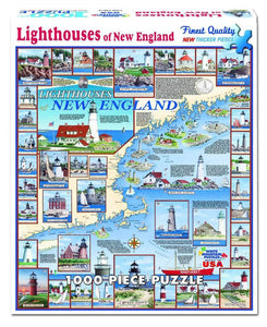 New England Lighthouses - 1000 Piece Puzzle