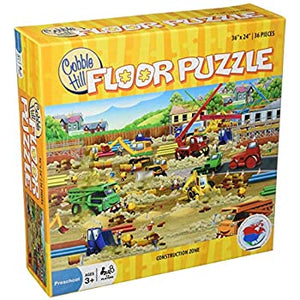 Construction Zone Floor Puzzle