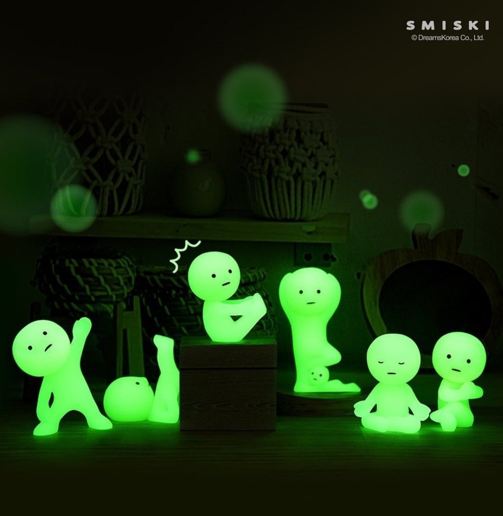 Smiski - Yoga Series - Glow in the Dark