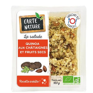 Quinoa Chataigne 160g Carte Nature
