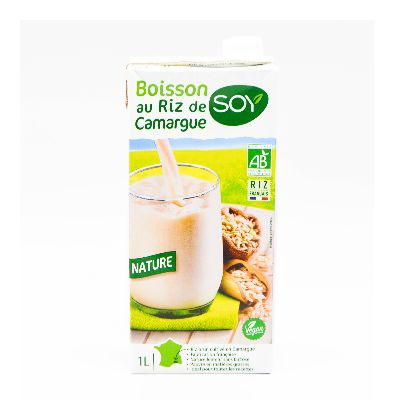 Biosoy Riz Complet Nature Lt Soy