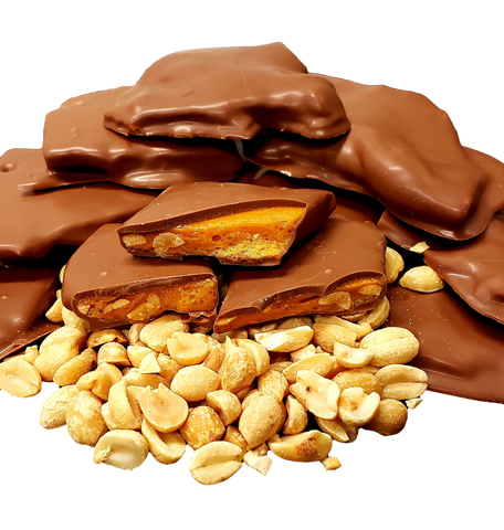 Chocolate Peanut Brittle