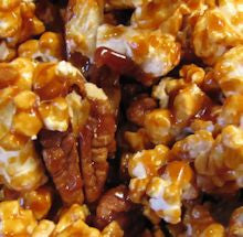 Caramel With Nuts Popcorn
