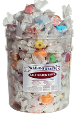 Salt Water Taffy 3 Pound Tub $29.99