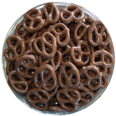 Chocolate Coated Mini Pretzels
