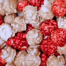 Strawberry & Cream Popcorn