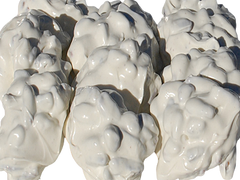 White Chocolate Clusters