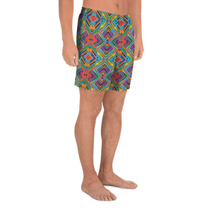 Men's Athletic - Strange Legacy - Long Shorts