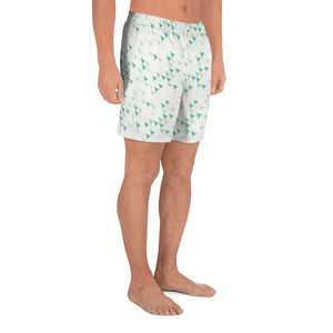 Leafy Green Rockets - Strange Legacy - Men's Athletic Long Shorts - Strange Legacy