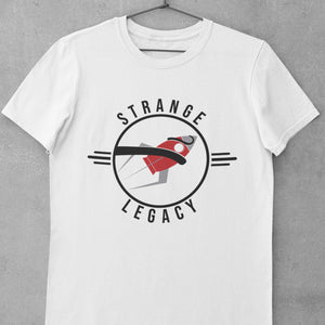 Open image in slideshow, Rocket Vault - Strange Legacy - Short-Sleeve T-Shirt