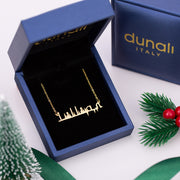 Gold Plated Name Necklace Sterling Silver Name Pendant