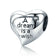 A Dream Is A Wish Heart Charm Bead
