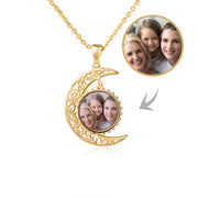 Delicate Moon Style Pendant I Love You to the Moon and Back Necklace