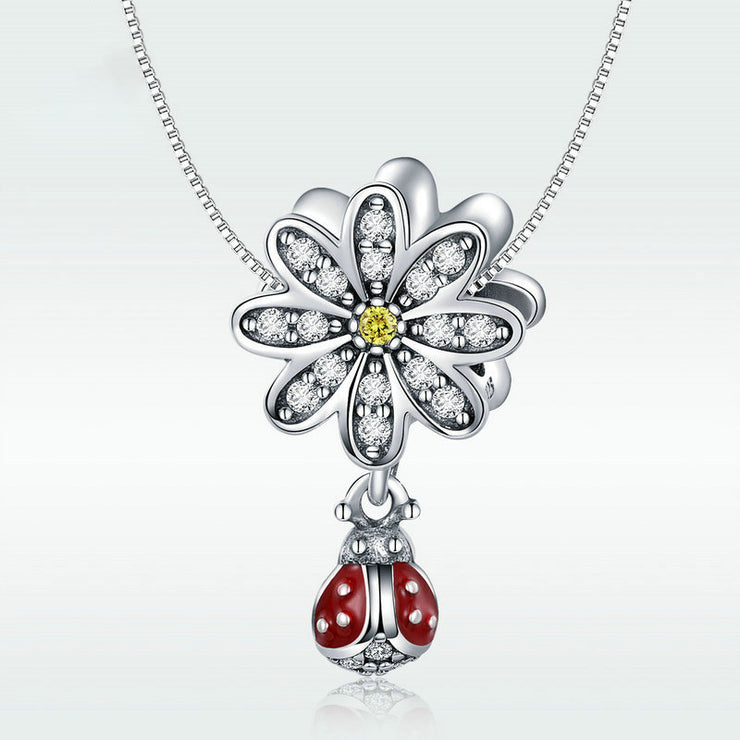 Ladybug's Story Sterling Silver Handmade Charm Bead