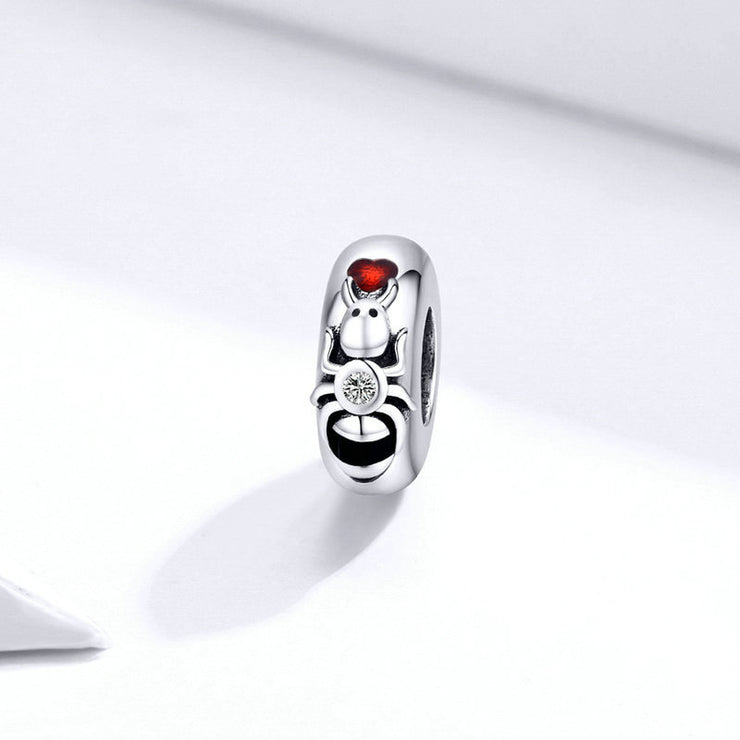 Retro Insect Ant Charm Spacer Bead