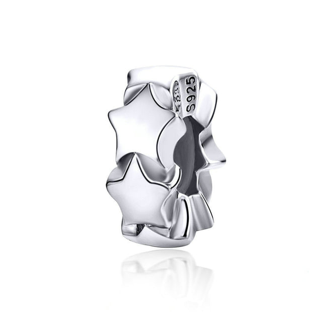 Sterling Silver Five-pointed Star Charm Spacer