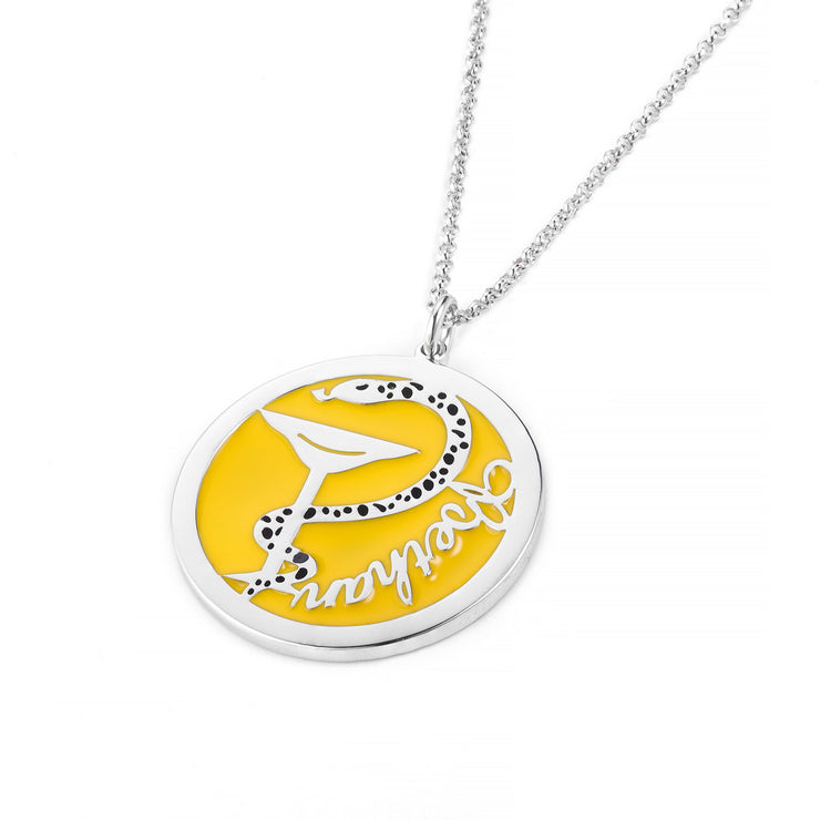 DUNALI™ Personalized Beautiful Snake Necklace/Pendent in Silver