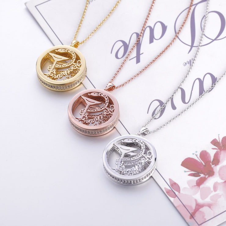 DUNALI™ Personalized Beautiful Snake Necklace/Pendent