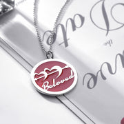 DUNALI™ Personalized Cupid Necklace/Pendent in Silver