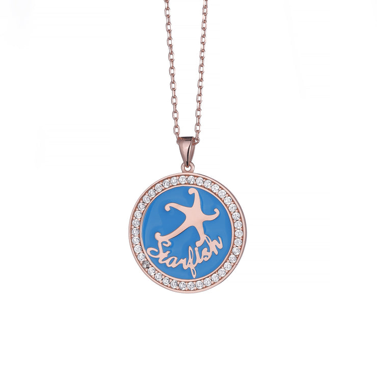 DUNALI™ Personalized Starfish Customizable Necklace-DUNALI