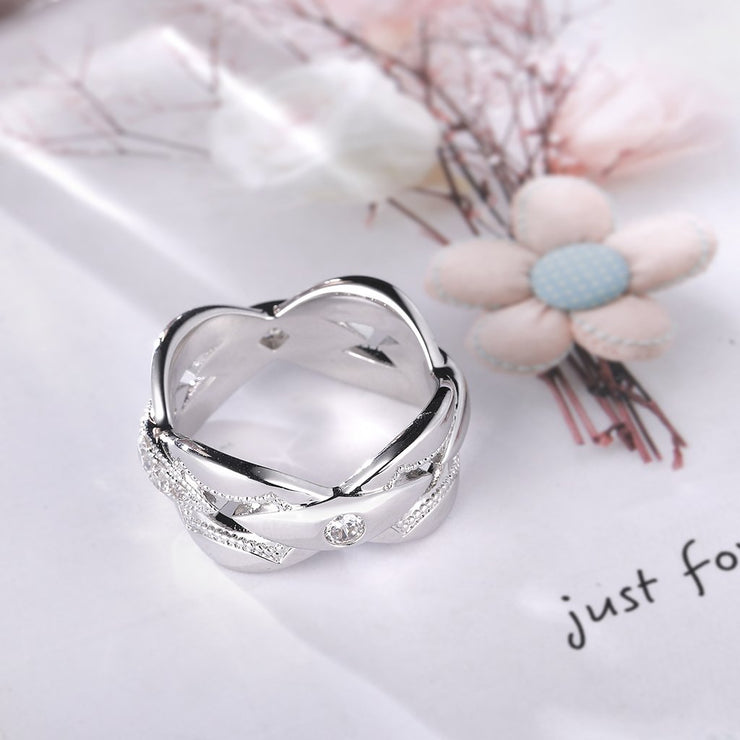 DUNALI™ Unique Gemstones S925 Sterling Silver Ring-DUNALI