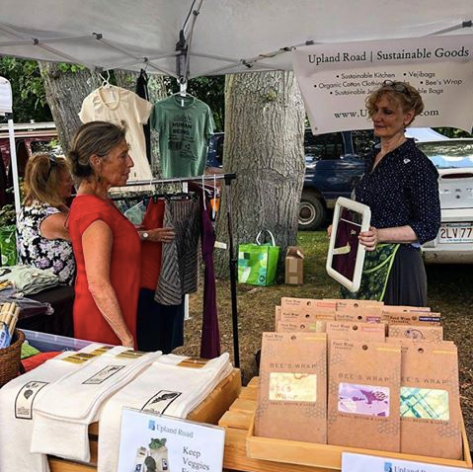 Upland Road Sustainable Goods at Newton Farmers Market