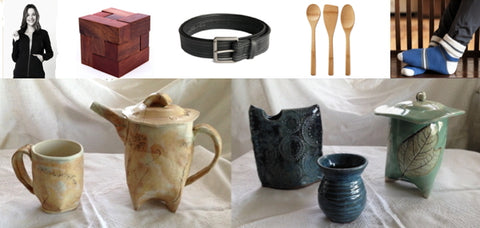 Open House December 2 - Organic & Eco-Friendly Gifts, Pottery, Paintings & Handmade Lotions