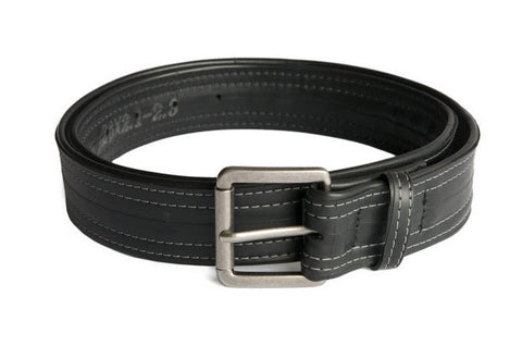 Eco-friendly, vegan Ballard Belt from Upcycled Bicycle Innertubes-Alchemy Goods