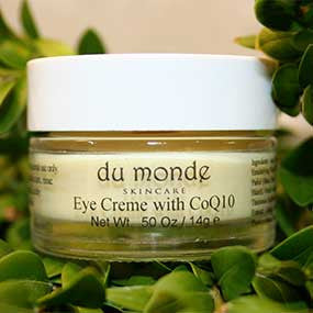Dumonde all natural moisturizing eye cream with CoQ10 | Upland Road