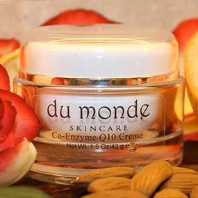 Natural CoQ10 Facial Moisturizing Cream DuMonde Skin Care
